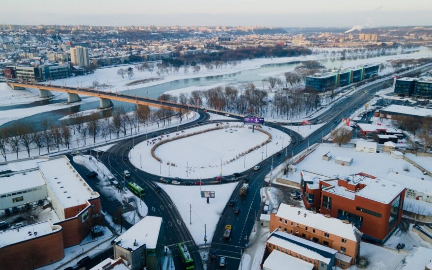 Kauno pilies žiede prasidės didžioji rekonstrukcija: kelis mėnesius bus apribotas eismas
