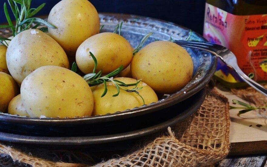 Bulvės su lupena