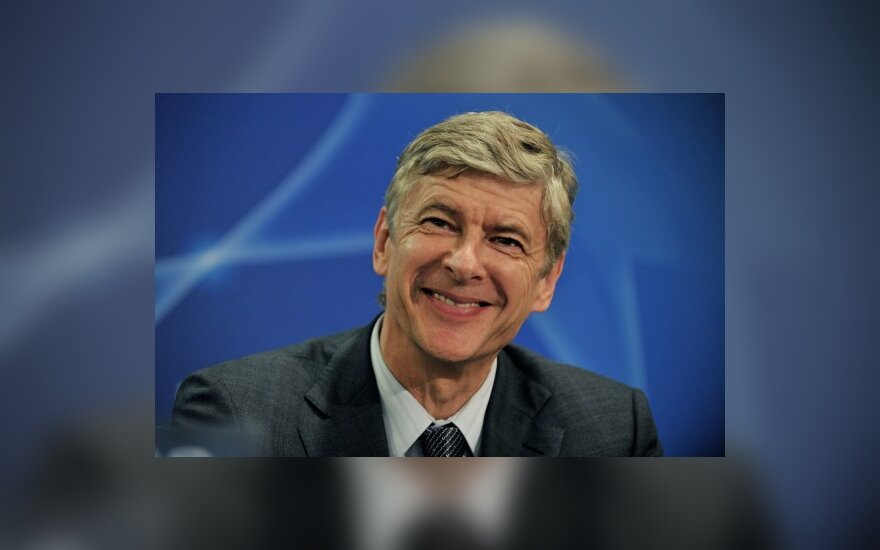 "A.Wengeras: negalėjau išduoti ""Arsenal"" klubo"
