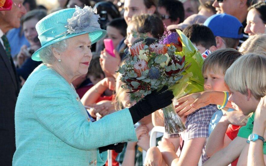 Britanijos karalienė Elžbieta II
