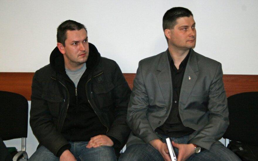 Liudvikas Vasiliauskas (kairėje) ir Vytenis Šlenys