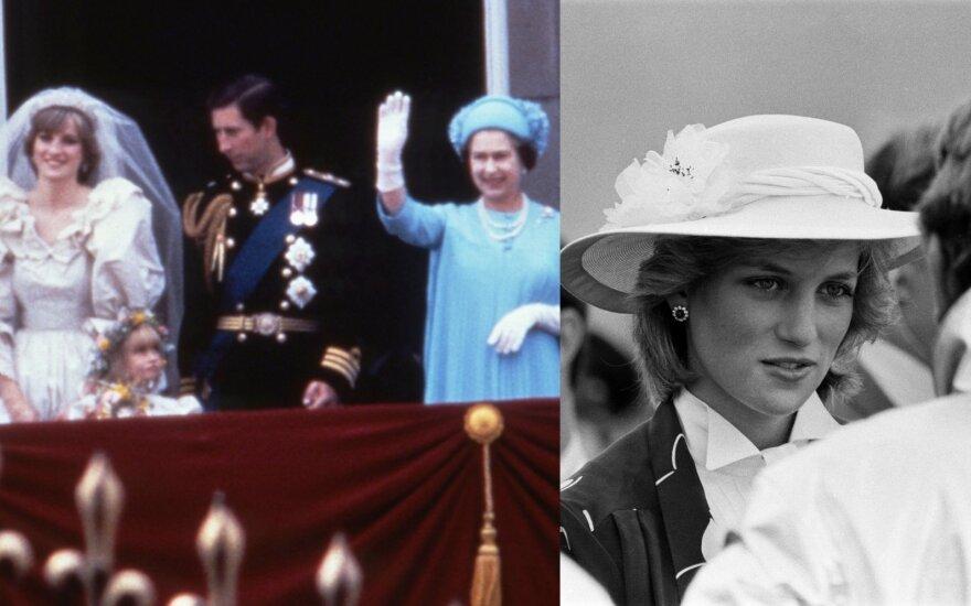 Princesės Dianos gyvenimo akimirka