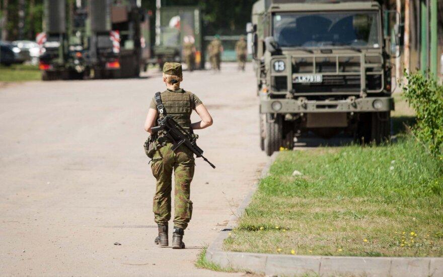 Rukloje – NATO bataliono vado pasikeitimo ceremonija