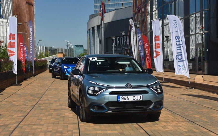 Sieks Lietuvos rekordo – daugiausiai elektromobilių vienoje vietoje