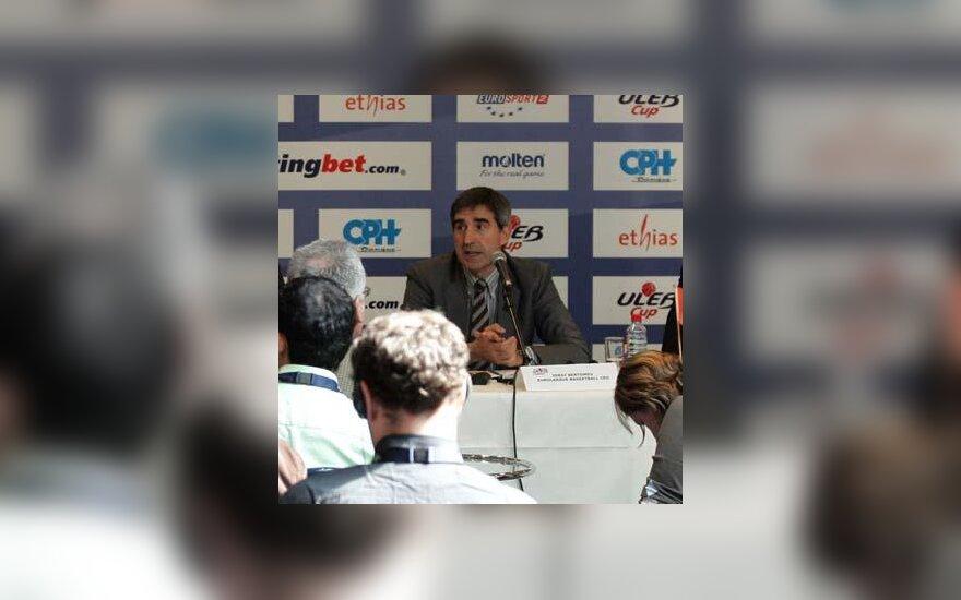 Eurolygos vadovas Jordi Bertomeu