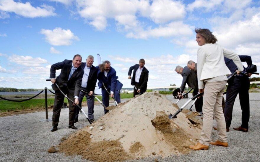 """Statoma nauja """"Vattenfall"""" gamykla"""
