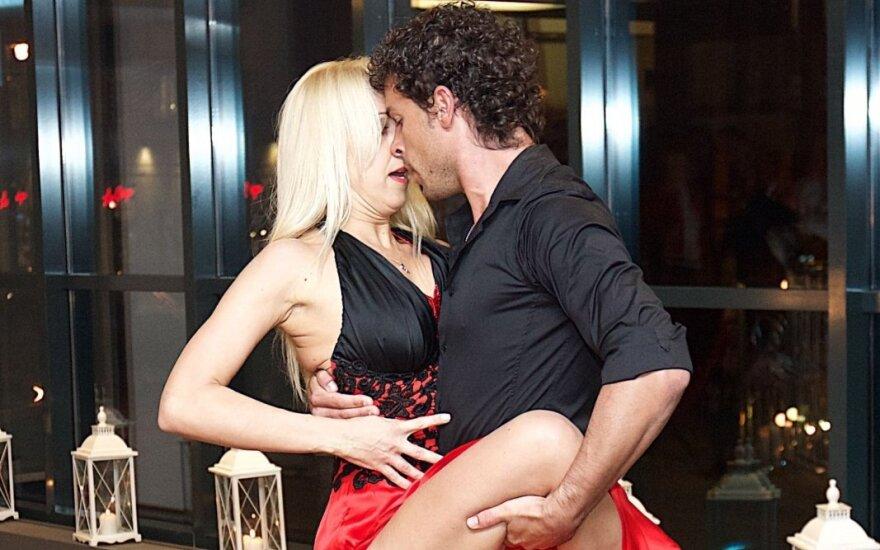Ineta Stasiulytė su Deividu Meškausku
