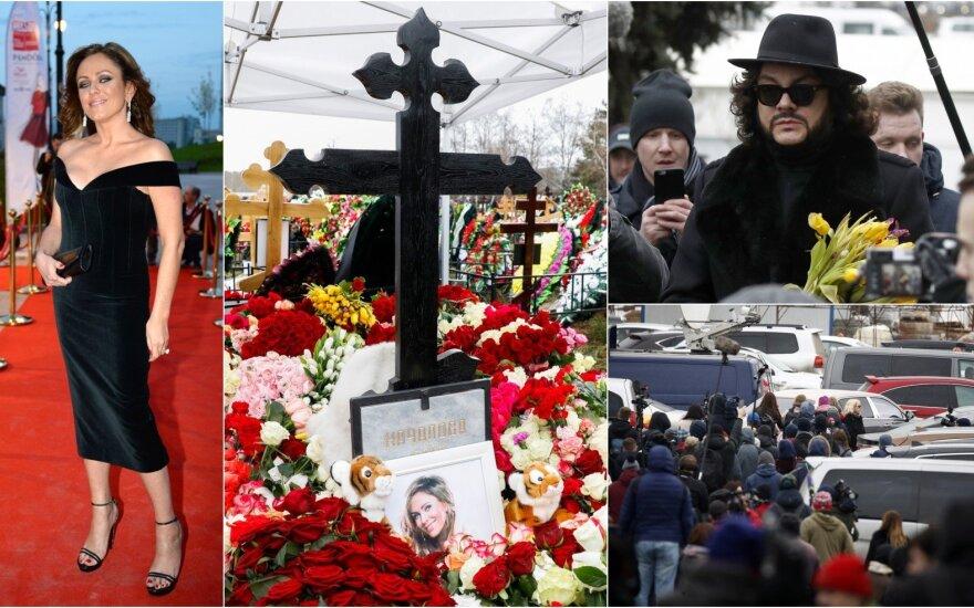 Julijos Načialovos laidotuvės