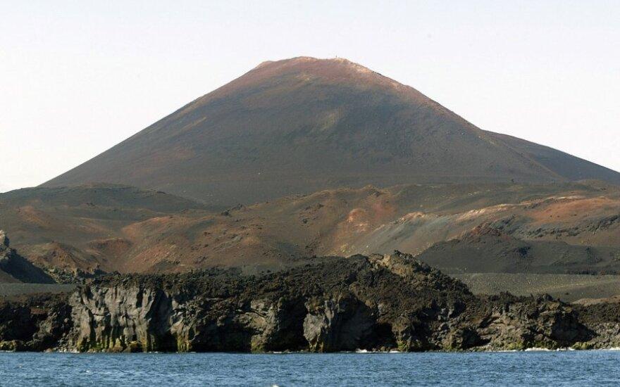 Ugnikalnis Hekla Islandijoje
