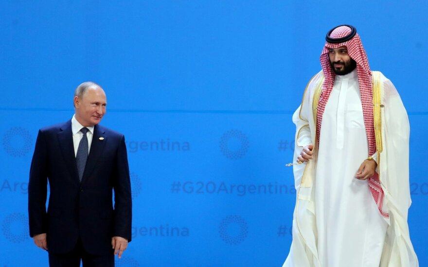 Vladimiras Putinas, Mohhamed bin Salman