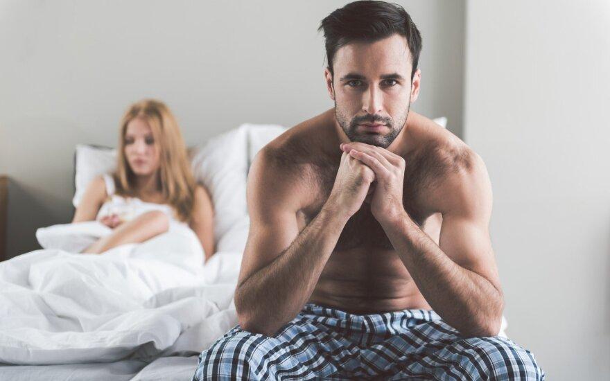 Vyrą žmonos abejingumas lovoje veda iš proto