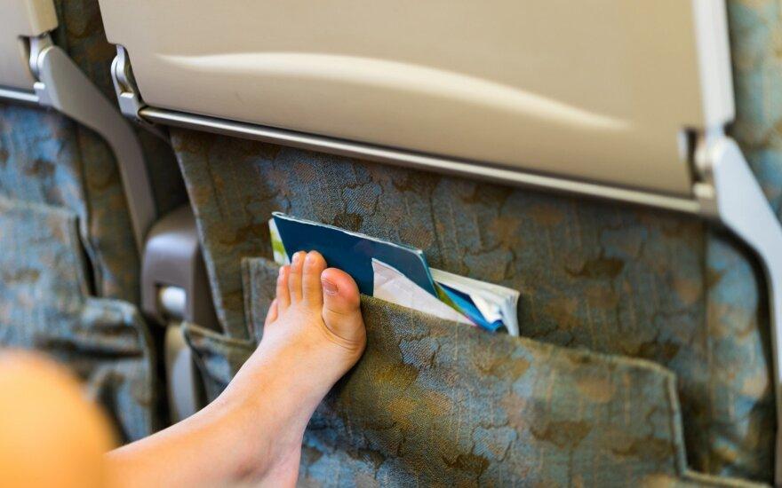 Kojos lėktuve