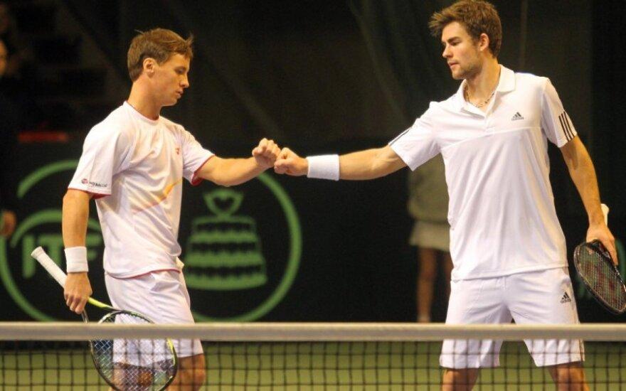 R. Berankis ir L. Grigelis ATP reitinge prarado po vieną poziciją