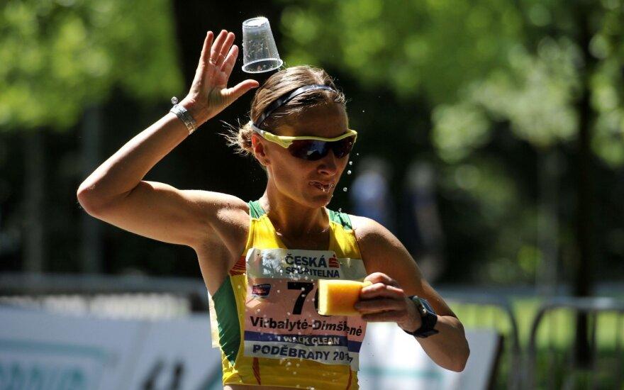 Ėjikė Virbalytė-Dimšienė Čekijoje užėmė antrą vietą