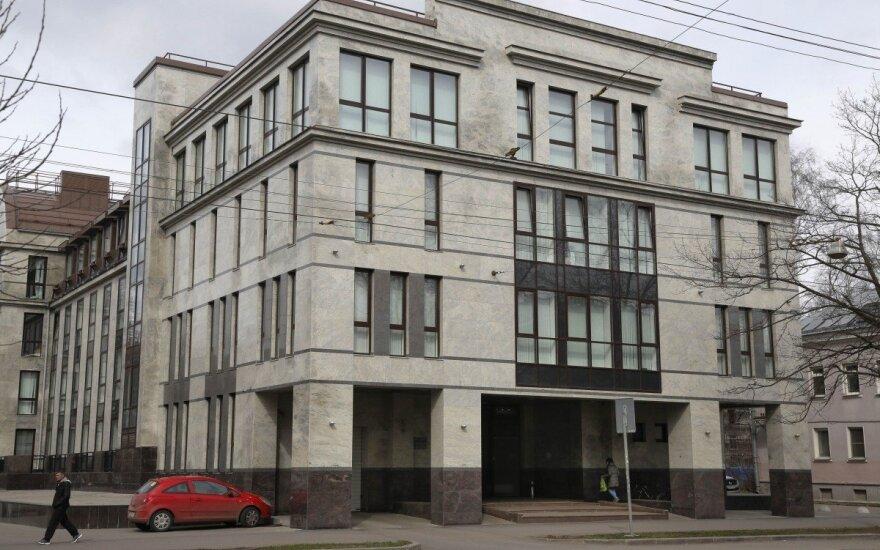 Rusijos trolių fabrikas Sankt Peterburge