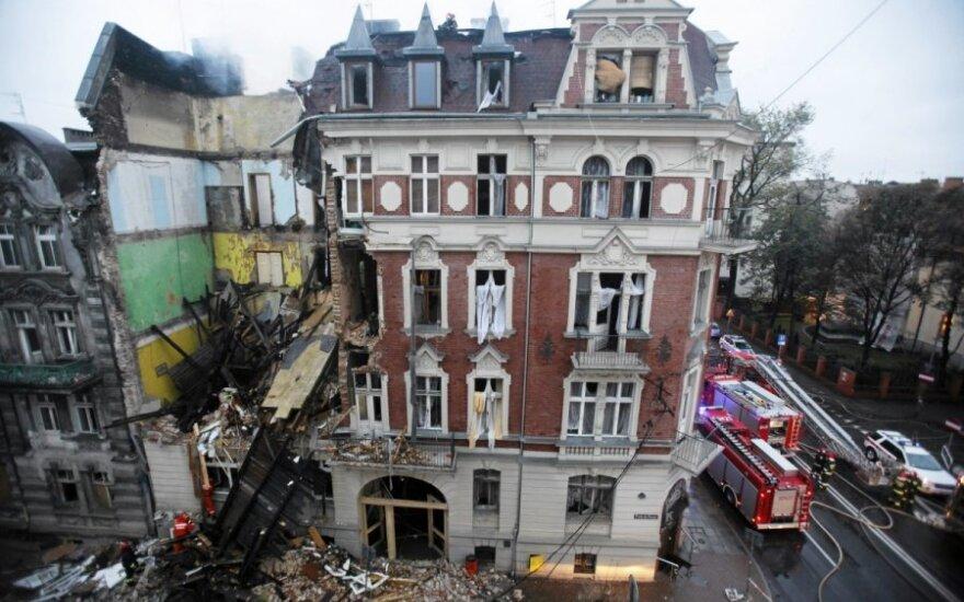 Lenkija: galingas sprogimas pareikalavo aukų
