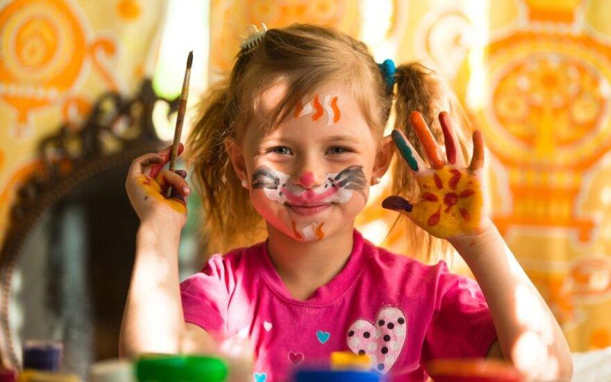 Nuomonė. Kas lemia vaiko kūrybingumą?