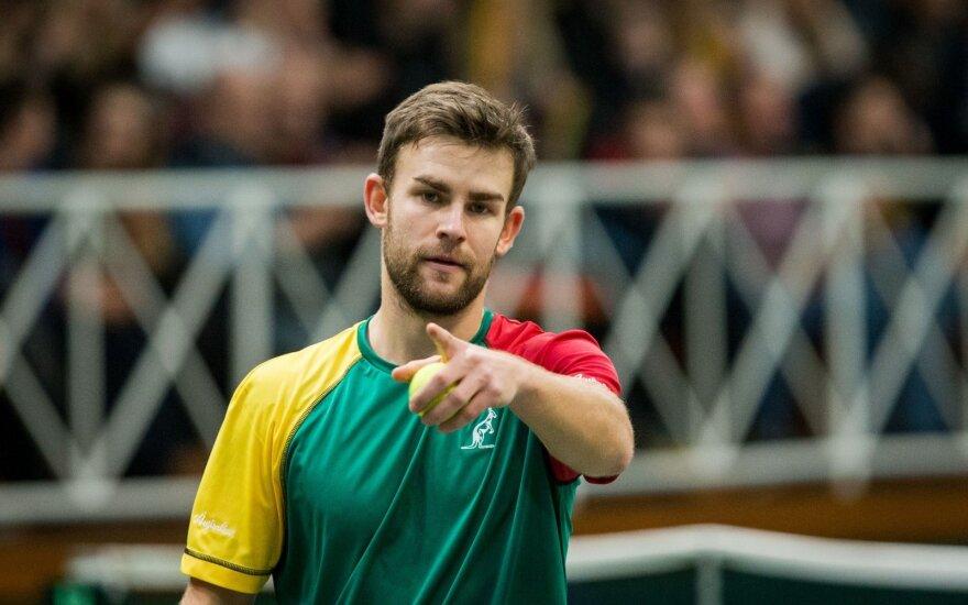Grigelis Kazachstane nugalėjo Ispanijos tenisininką