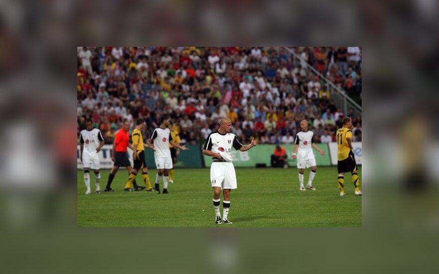 """""""Vėtra"""" baigė pasirodymą UEFA Europos lygoje (kiti rezultatai)"""