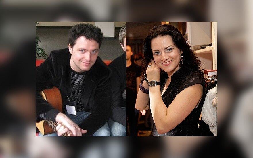 Edgaras Lubys ir Živilė Vaškytė