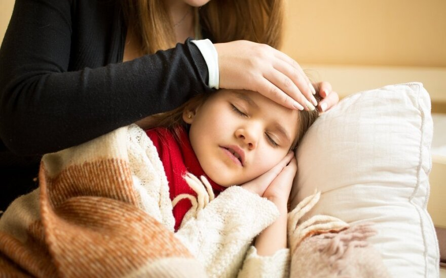 Pediatrė pataria, kaip apsaugoti vaikus nuo gripo