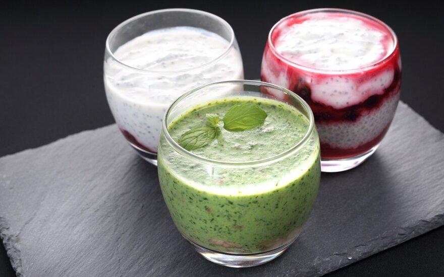 Vertingas pusryčių kokteilis, kuris tinka mažinantiems cholesterolį ir lieknėjantiems