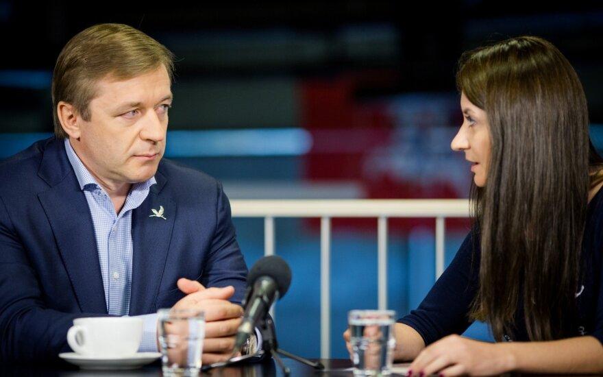 Ramūnas Karbauskis end Eglė Samoškaitė
