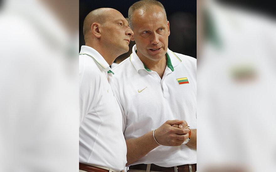 Ramūnas Butautas ir Rimas Kurtinaitis