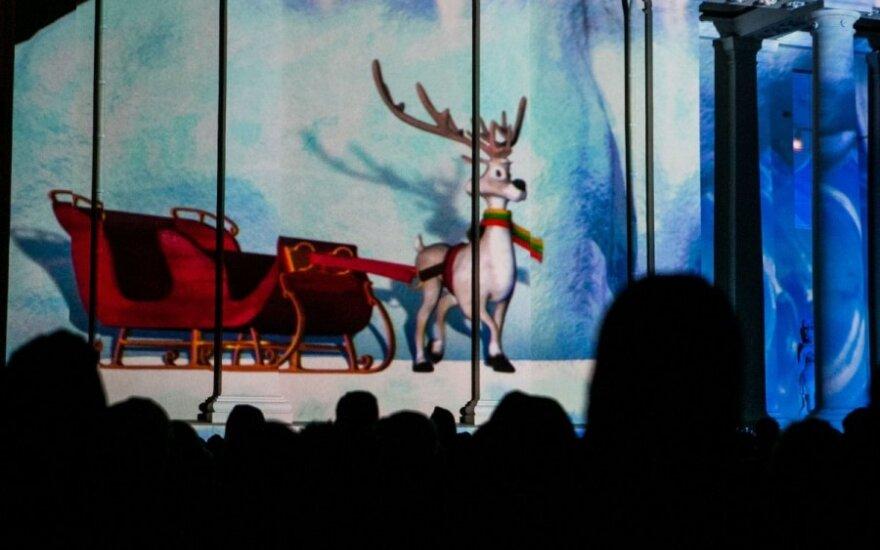 Sostinėje sužibo Kalėdų pasaka