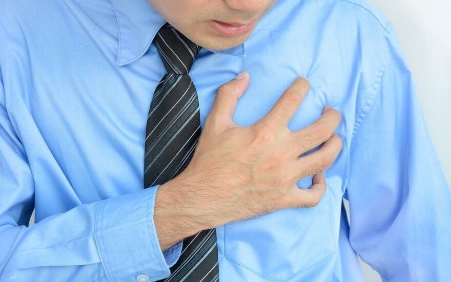 Būtina žinoti: labai keisti ir netipiniai infarkto požymiai