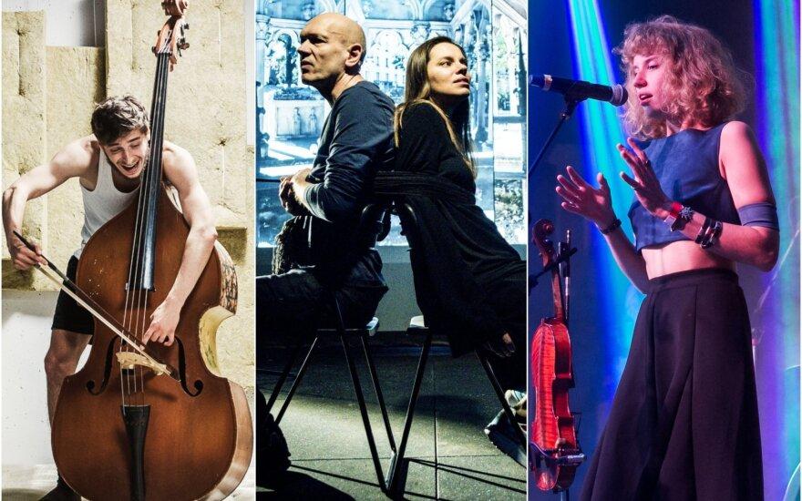 """Spektakliai """"Kontrabosas"""" ir """"Abelaras ir Eloiza"""", grupės """"Baltos Varnos"""" koncertas"""