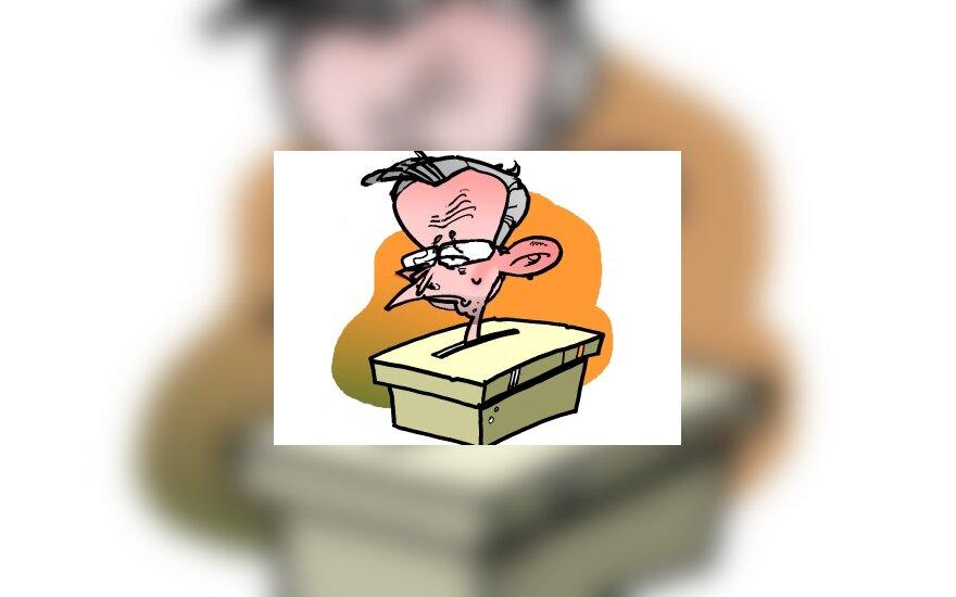 Zenonas Vaigauskas - karikatūra