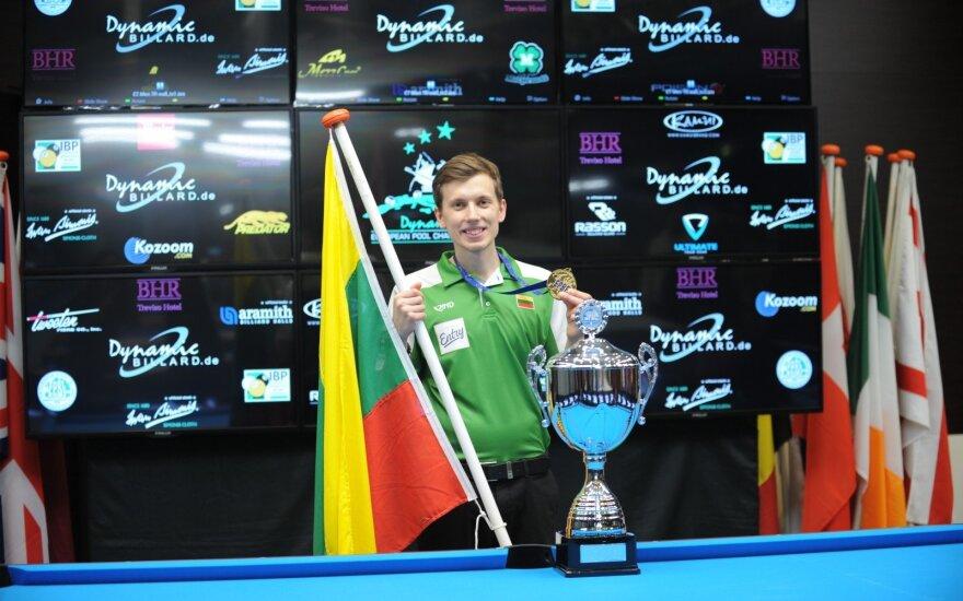 Labučiui – Europos jaunimo pulo čempionato auksas