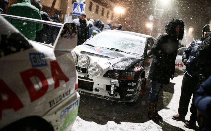 """""""Winter rally 2019"""". Organizatorių nuotr."""