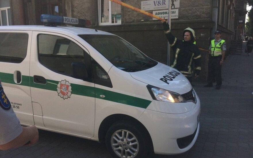 Iš Kauno apygardos teismo pastato skubiai evakuoti žmonės