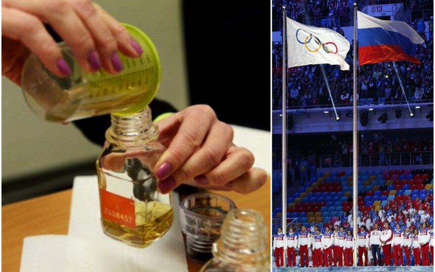 Rusijos dopingo skandalo tyrimas įgauna antrą kvėpavimą