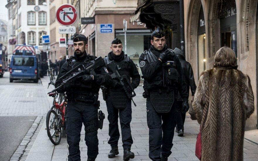 Strasbūro teroristo pusbrolis sulaikytas per ginkluotą apiplėšimą