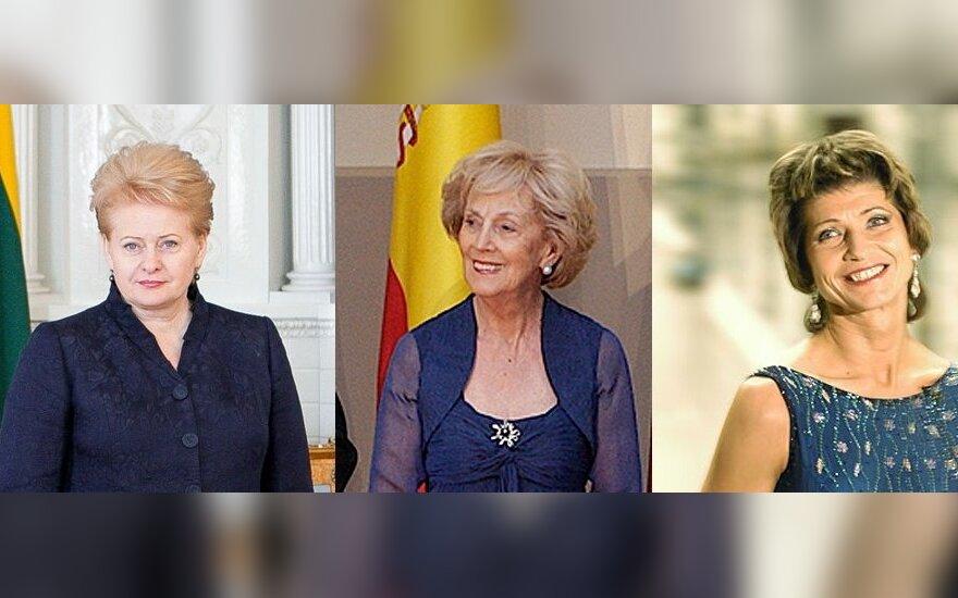 Dalia Grybauskaitė, Alma Adamkienė, Laima Paksienė