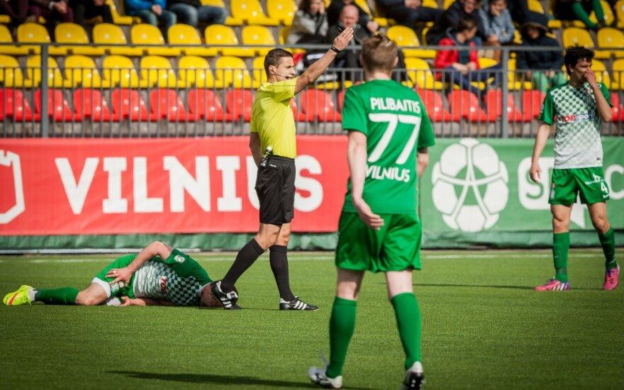Futbolo A lyga - Žalgirių derbis