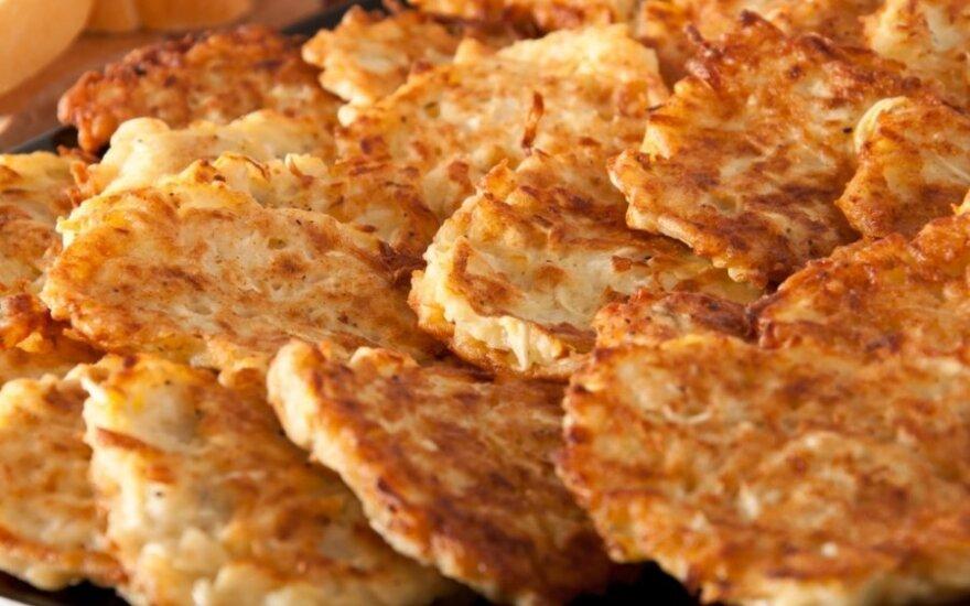 Ypatingi bulvių blynai, pagal seną močiutės receptą