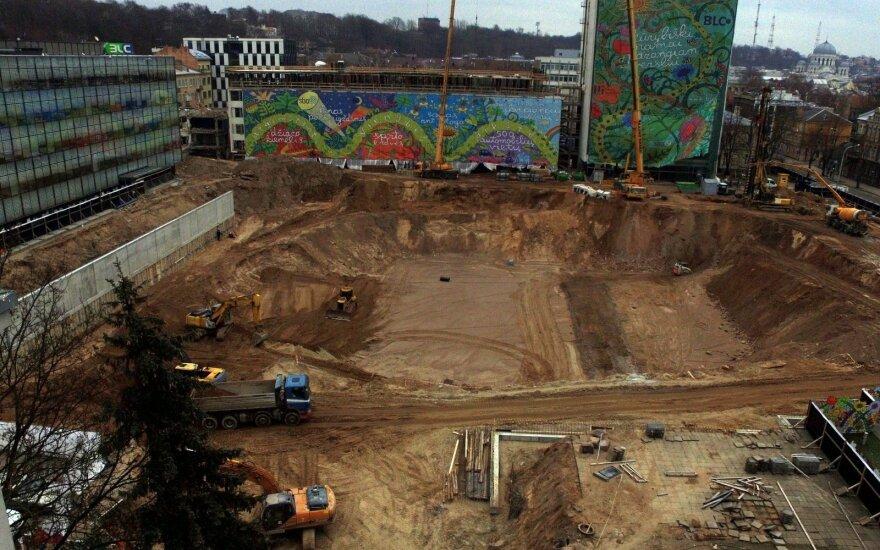 Kauno Vienybės aikštės rekonstrukcijai tęsti laukiama granito