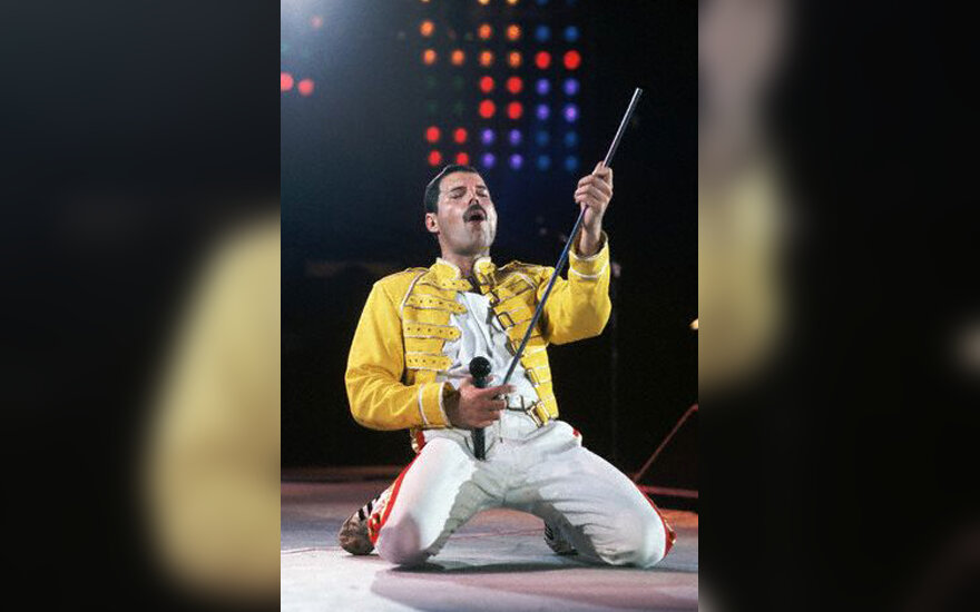 "Freddie Mercury, grupė ""Queen"" , ID: PN017282"