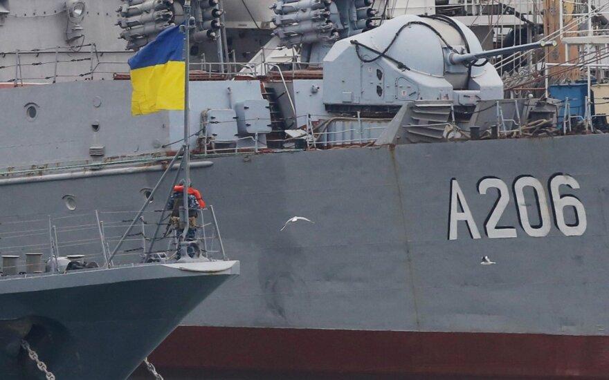 Ukrainos laivai Odesoje