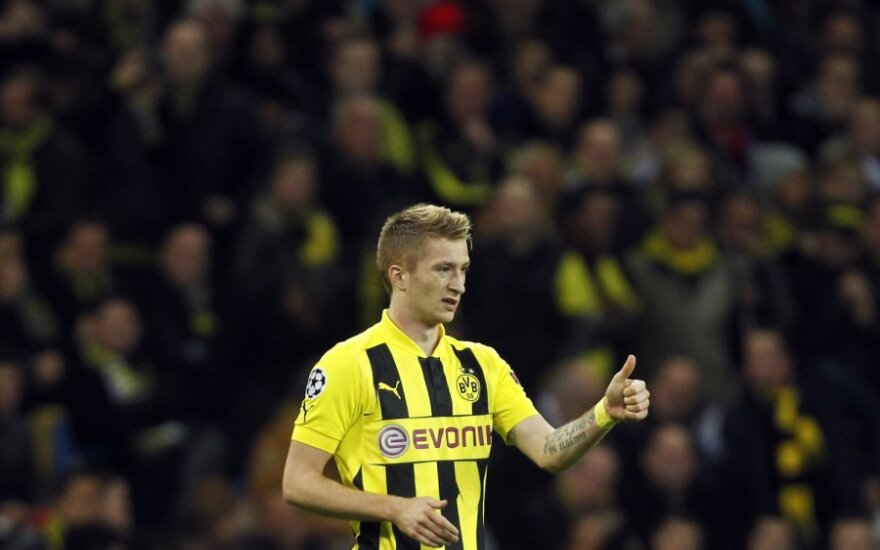 """Vokietijoje - M.Reuso šou ir """"Borussia"""" ekipos pergalė"""