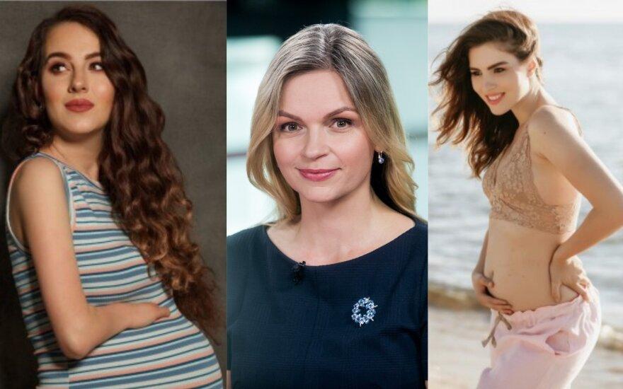 Iš kairės: Aušra Sevrukė, Nora Lapinskienė ir Sotera Šveikauskaitė/ Foto: asmeninio archyvo ir Delfi
