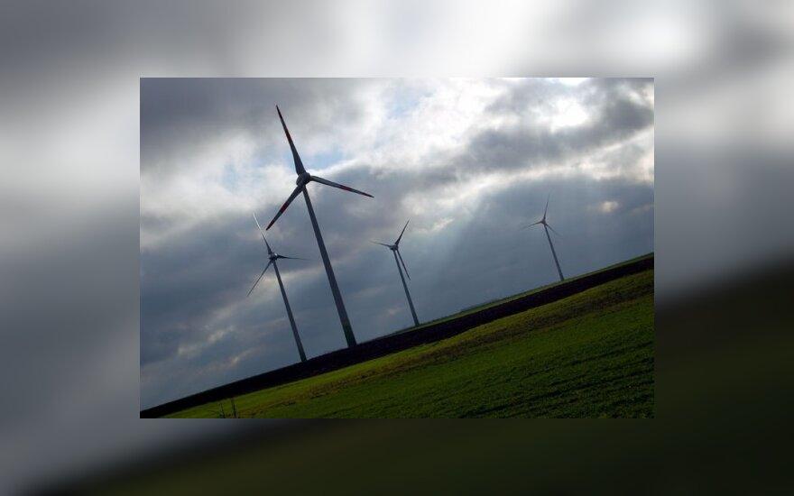Negavę paramos vėjo jėgainėms, teismui apskundė Žemės ūkio ministeriją