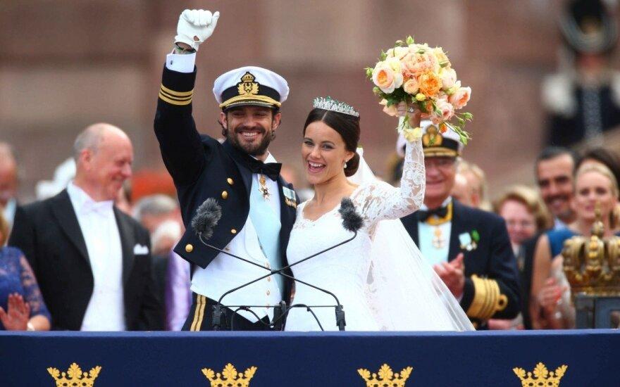 Princas Carlas Philipas ir Sofia Hellqvist