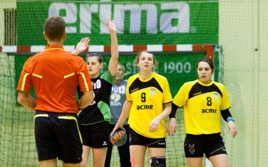 """Lietuvos moterų rankinio čempionate - """"ACME-Žalgirio"""" 14-a pergalė"""