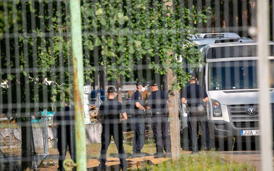Rūdninkų poligone planuojama apgyvendinti 800 neteisėtų migrantų