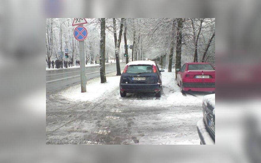 Vilniuje, T.Kosciuškos g. 1. 2009-12-29, 12.52 val.